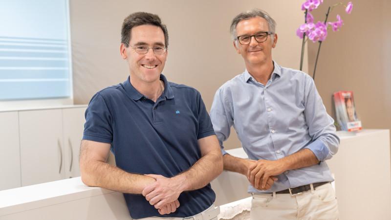 Willi Ehner und Dr. Martin Hadaller